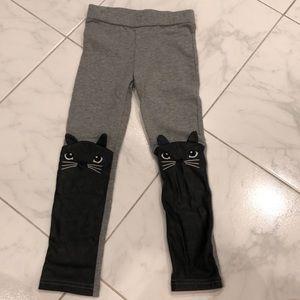 Faux Leather Cat Leggings